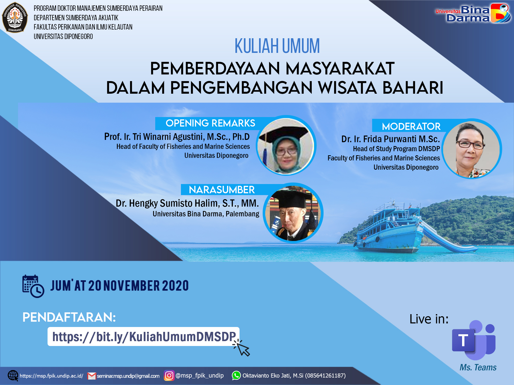 Kuliah Umum DMSDP